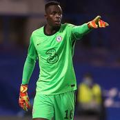 EPL Clean Sheets: After Chelsea Drew With Man U, See Where MENDY Is Currently Ranked