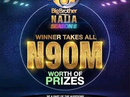 Reactions As N90 Million Prize Is Announced For BBNaija Season 6