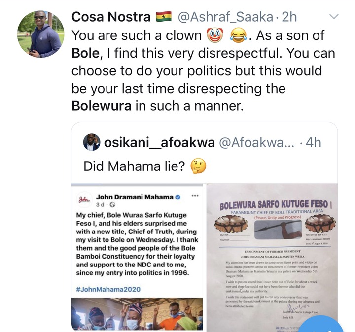 42415faf0b232729c75cd6ecad5f0304?quality=uhq&resize=720 - See some reactions of Ghanaians after Bole Chief exposed his own son, John Mahama