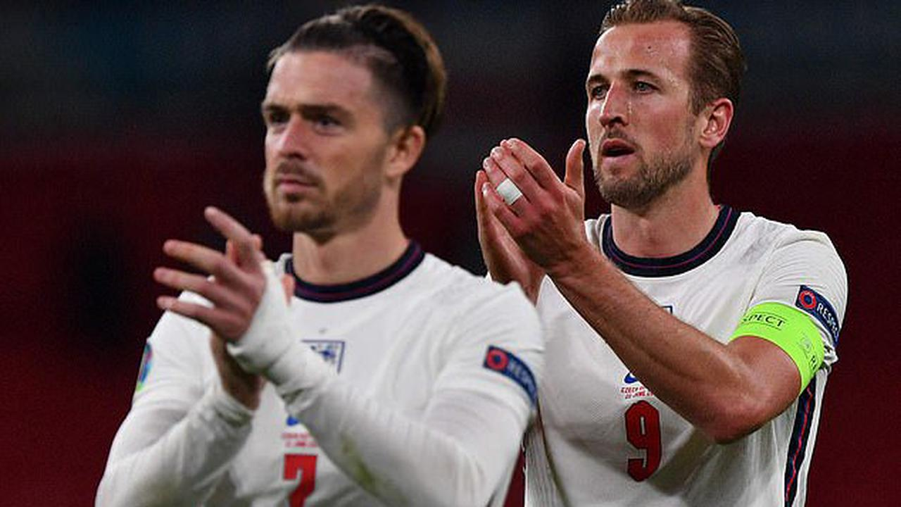 Harry Kane 'will tell Tottenham next week that he wants to JOIN Jack Grealish at Man City' ahead of his expected £100m move from Aston Villa... with England captain to report back to Spurs' training base on Monday
