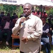 Why Kisii Deputy Governor,  Maangi Did Not Attend The Burial Of Bonchari MP Oyioka