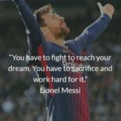 Top Five Greatest Ever Quotes On Messi