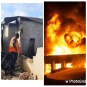 Four Persons Burnt To Death During A Fire Outbreak In Kumasi