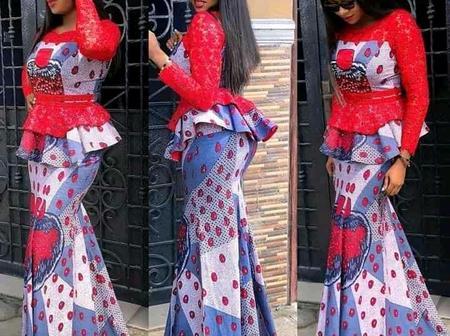 Eye-catching long Ankara skirt and blouse styles for elegant ladies