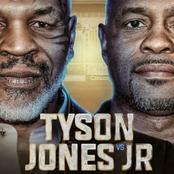 تعرف على نتيجة المباراة التي جمعت تايسون و روي جونز ..