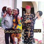 The veteran actor that died today, see photos of him spending time with his family before his death