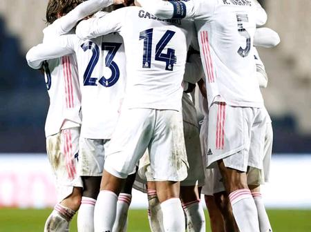 Real Madrid Creates a World Record As They Become The 1st Team in History To Reach This Milestone
