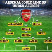 How Arsenal Could Line Up Under Massimiliano Allegri