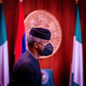 VP Yemi Osibanjo presided over a Virtual Federal Executive Council meeting at the State House, Abuja