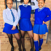 See Adorable photos of girls slaying in school uniforms
