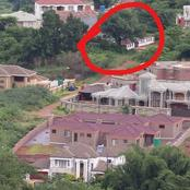 Check What Was Spotted Between These Luxurious Houses That Left A Stir On Social Media.