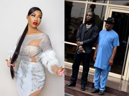 VIDEO: Criticism Of Gov. Wike Over Burna Boy Was Unnecessary -Tacha