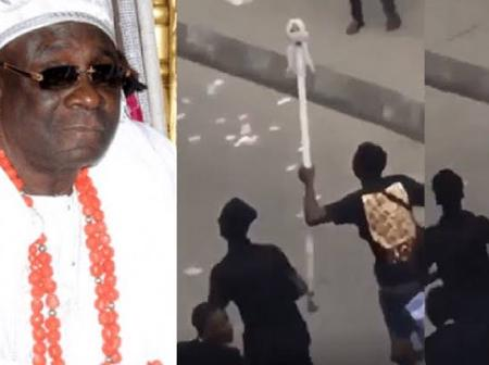 """""""They Forget to Turn on Location?"""" Adekunle Gold Reacts to Oba of Lagos' Missing Staff of Office"""