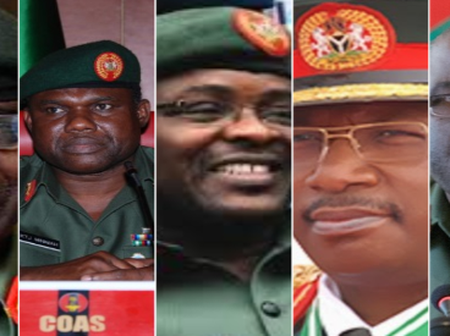 List of Nigeria Chief of Army Staff and their respective State