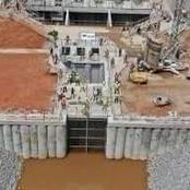 Découvrez quelques images des travaux de construction de l'usine de traitement d'eau de la Mé