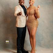 Nancy Isime stuns alongside Comedian Bovi, see what she wore that made her fans react