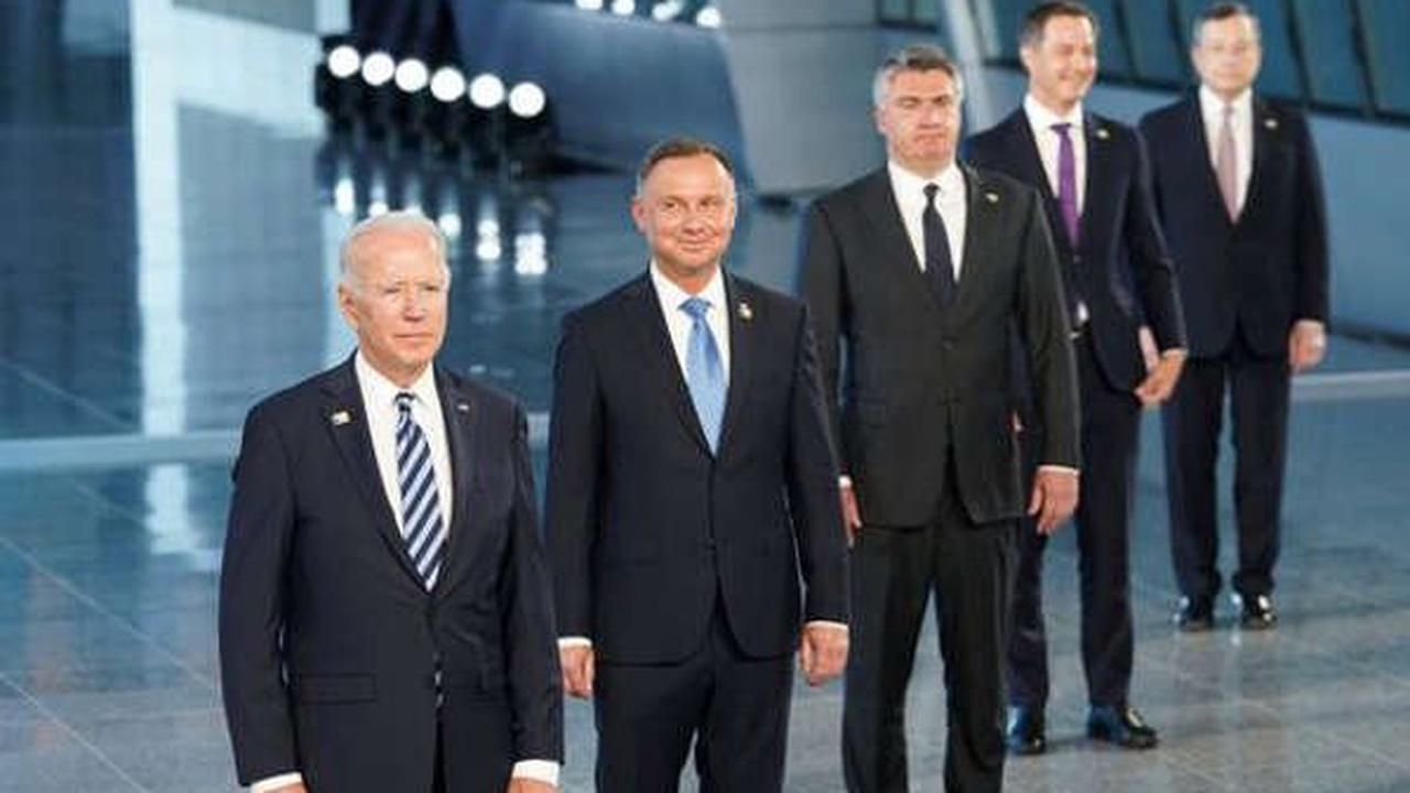 Biden, NATO Stress Threats From China and Russia