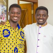 Bishop Agyinasare Appoints His First Born Son as Perez Dome Resident Pastor. PICS