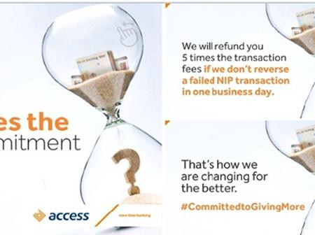 Checkout What Access Bank Said They Will Do If A Failed NIP Transaction Is Not Reserved In 24hours