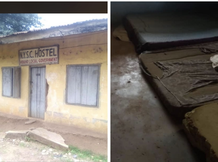 Lady Stirs Reactions Online After She Posted Photos Of The NYSC Hostel Located At Mbano L.G.A