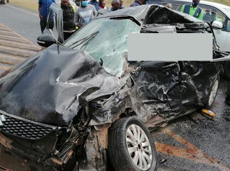 An Accident along Naivasha-Nakuru highway leaves several injured