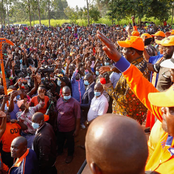 Raila Brings Matungu To A Standstill As He Campaigns For ODM Candidate