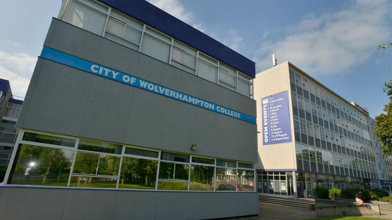 Students evacuated from Wolverhampton College after fire starts in toilets