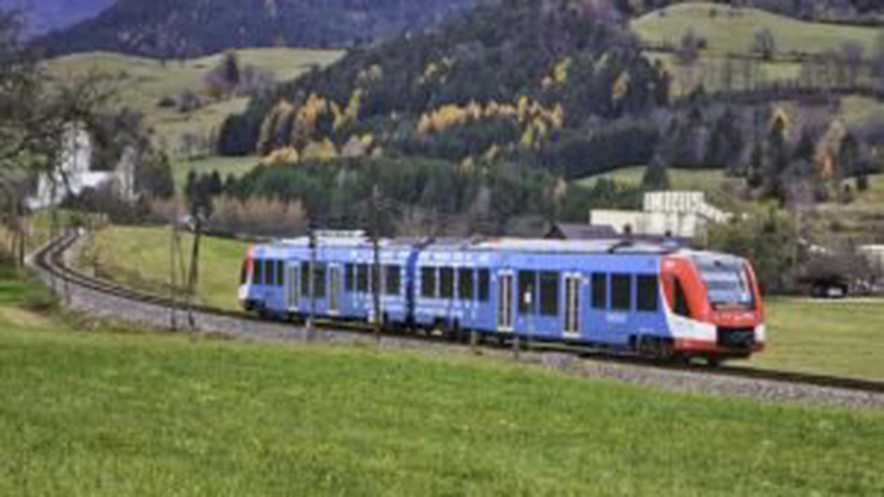 Die Wende: Erster Wasserstoff-Zug geht in Serienproduktion