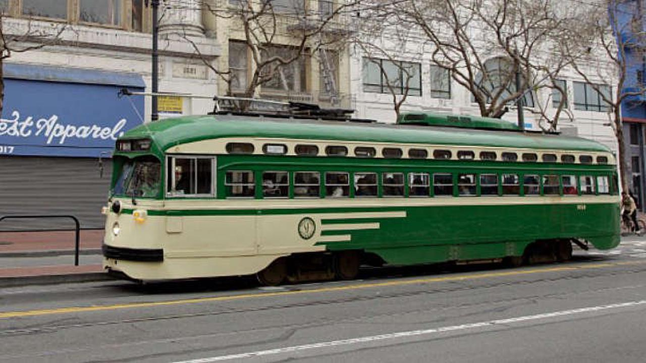 San Francisco Transit Officials Reopen Muni Metro Stations; Restore F-Line Trolley Service To Fisherman's Wharf