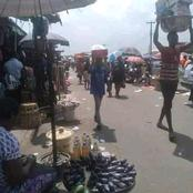 Traders And Drivers, Taking All Over Rumuokoro And Bishop Okoye, After The Dissolution Of Taskforce