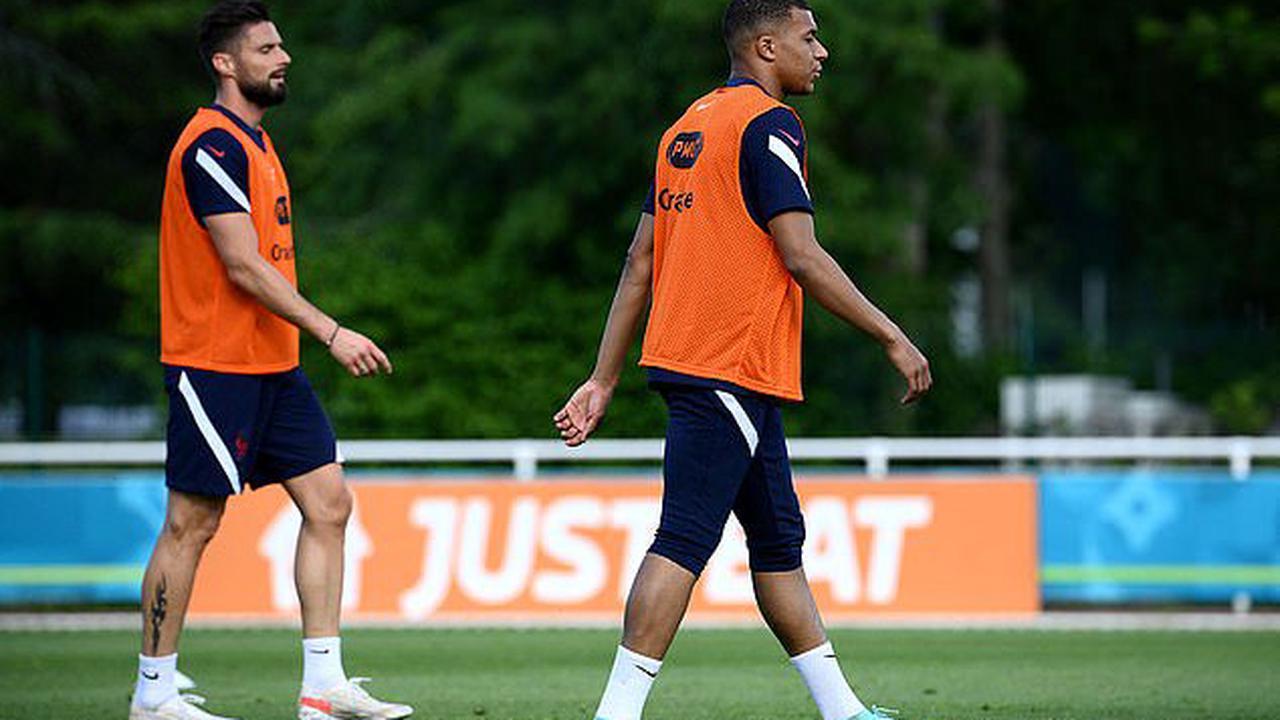 France goalkeeper Hugo Lloris plays down spat between Kylian Mbappe and Olivier Giroud as he insists: 'We have a great spirit'