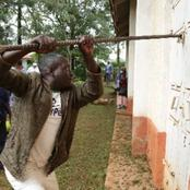 Drama After Believers Broke Six Church Padlocks Inorder to Access the House of God