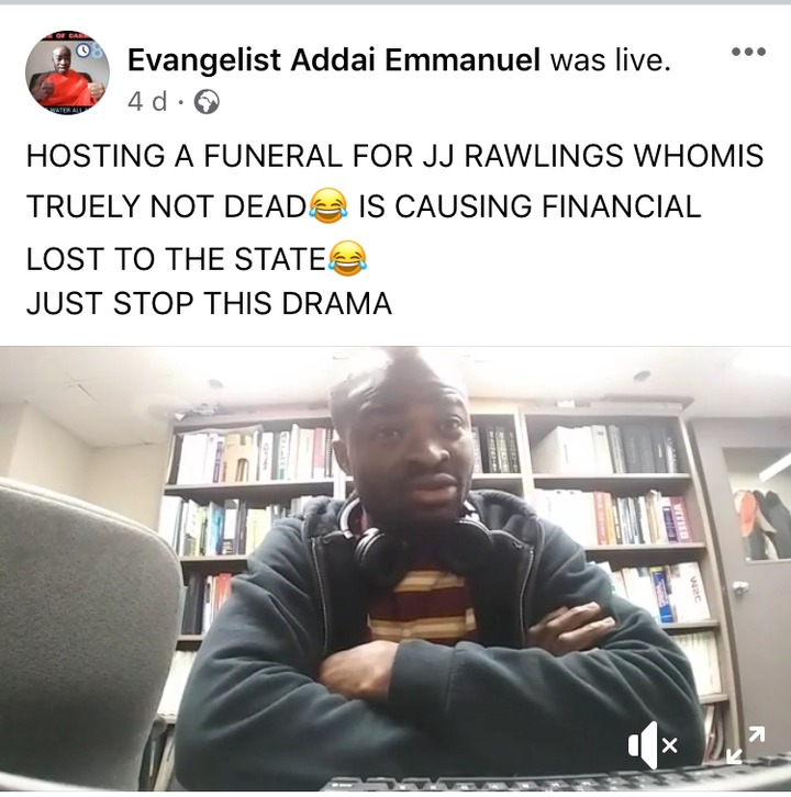 431bf12afe9282aea08f4a44a8b74fb0?quality=uhq&resize=720 - Oh How? What Evangelist Addai Is Saying After The Sudden Death Of Rawlings Is Irritating