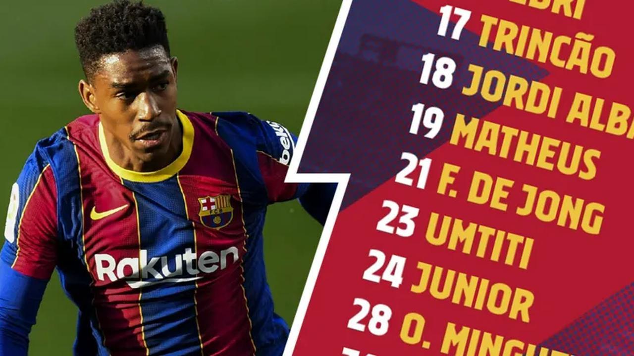FC Barcelona announce squad for La Liga match against Eibar
