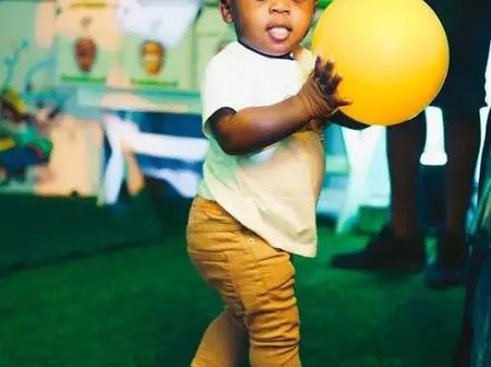 Davido's Son, Ifeanyi Is So Cute, Check Out His Recent Photos