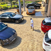 Throwback: This is not a car show room in Dubai, these cars were owned by Late Ginimbi.