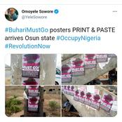 You're Just Inviting DSS To Your Door- Man Says As Sowore Pastes  #BuhariMustGo Posters