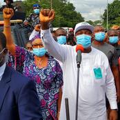 Read the Reply Enugu Protesters Gave their Governor that got People talking. (Video)