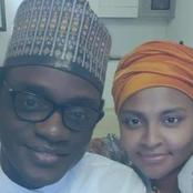 Weeks After He Married Abacha's Daughter, See Photos Of APC Caretaker Chairman With His New Wife