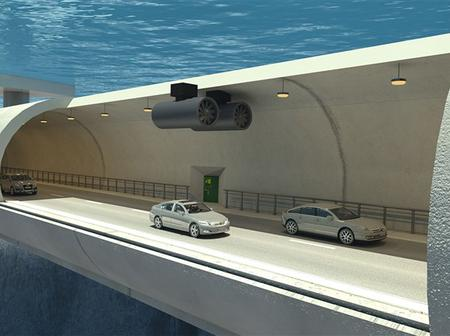 A Road Under Water? Amazing! Photos.