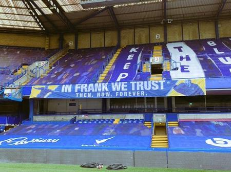 See The New Banner Spotted At Stamford Bridge That Got Fans Talking