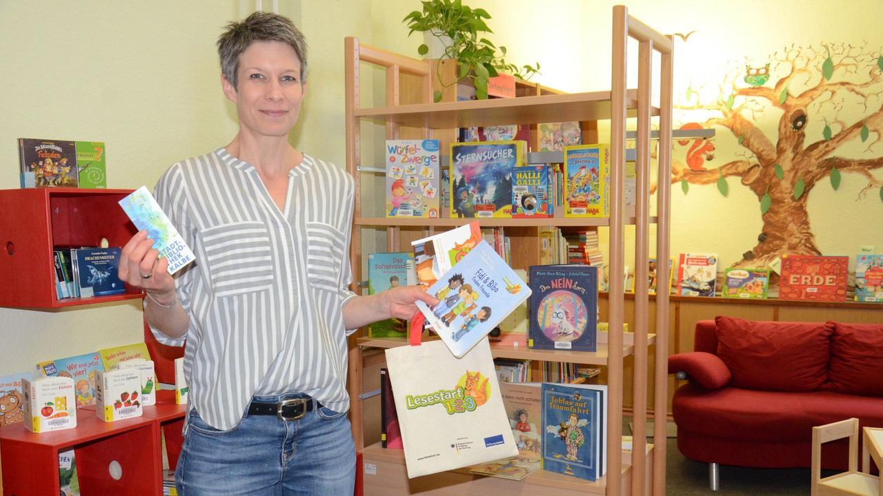 Bibliothek und Hausärzte in Kalbe beteiligen sich am bundesweiten Sprachförderprogramm Lesestart 1-2-3