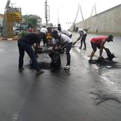 Here's What EndSars Protesters Did In Anambra State Today. (Photos)