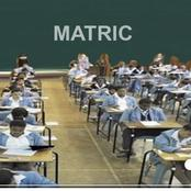 Matric exam papers leaked.