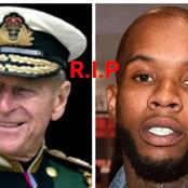 Black Friday as two world icons, Prince Philip and popular American rapper DMX pass away today