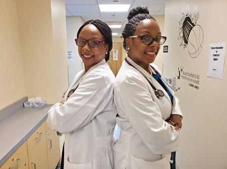 Meet These Beautiful Twin Doctors Encouraging People To Get Covid-19 Vaccines