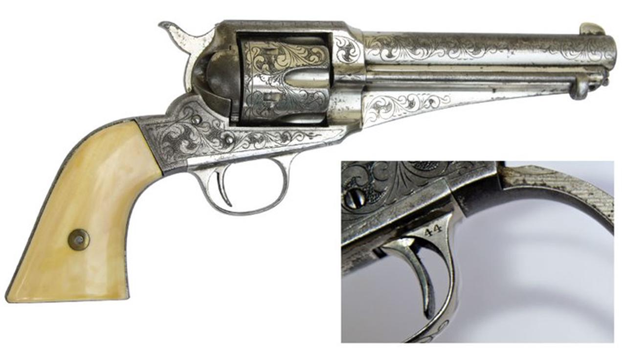 I Have This Old Gun: Remington 1875 Improved Army Revolver