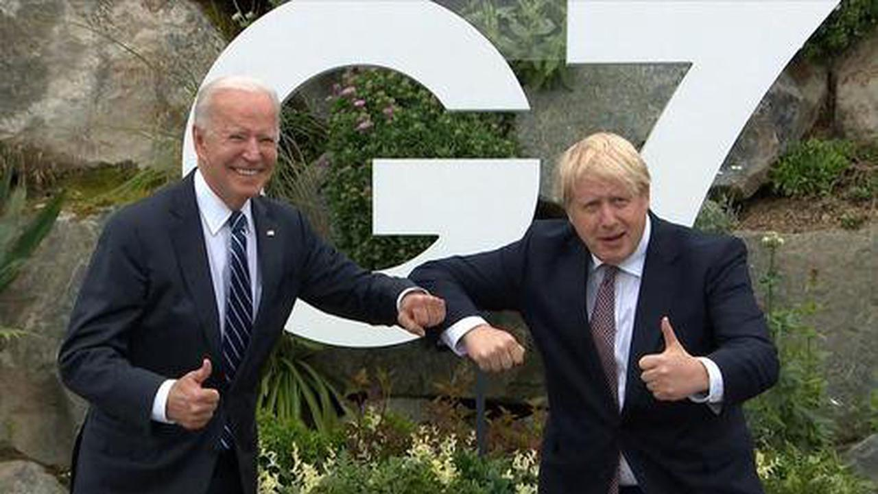 "Biden & BoJo Set Aside Differences And Reaffirm ""Indestructible"" Bilateral Relationship"