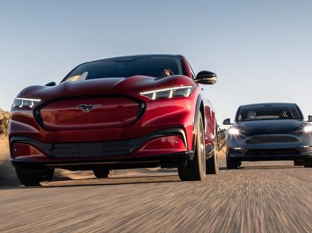 2021 Ford Mustang Mach-E vs. Tesla Model Y
