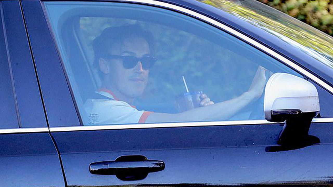Tom Fletcher is seen for the FIRST time out and about in his car since reports he and wife Giovanna 'claimed £30,000 from the government's furlough scheme'